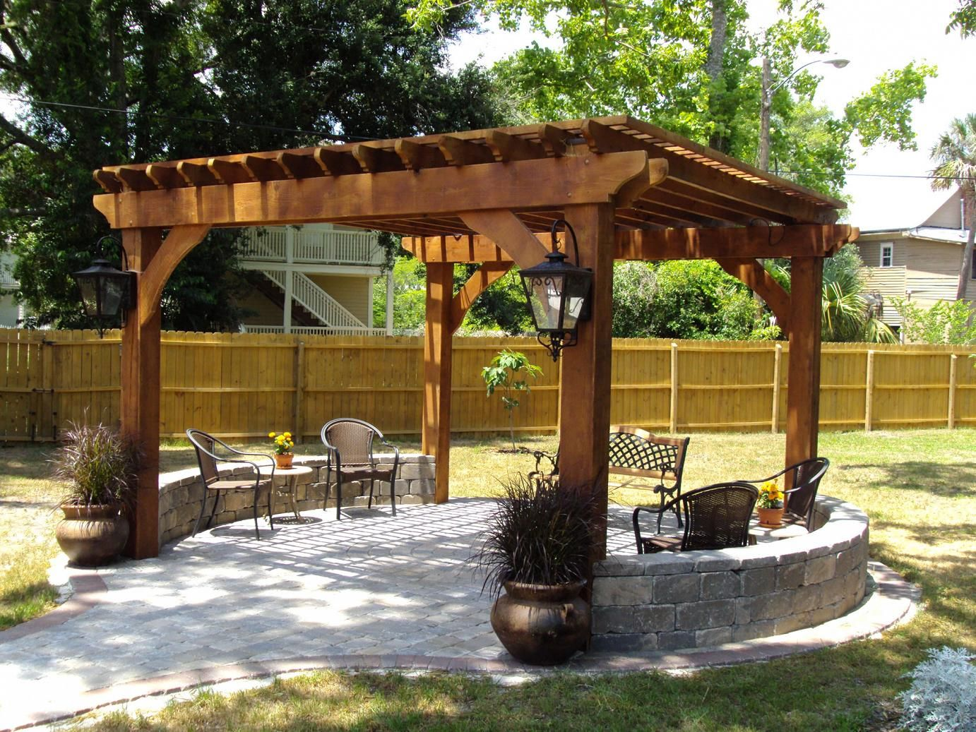 Outdoor Pergolas-Carrollton TX Landscape Designs & Outdoor Living Areas-We offer Landscape Design, Outdoor Patios & Pergolas, Outdoor Living Spaces, Stonescapes, Residential & Commercial Landscaping, Irrigation Installation & Repairs, Drainage Systems, Landscape Lighting, Outdoor Living Spaces, Tree Service, Lawn Service, and more.